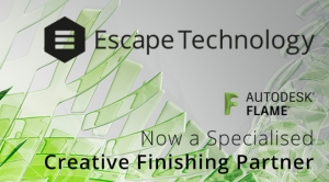 Escape Technology Earns Autodesk Creative Finishing Specialisation