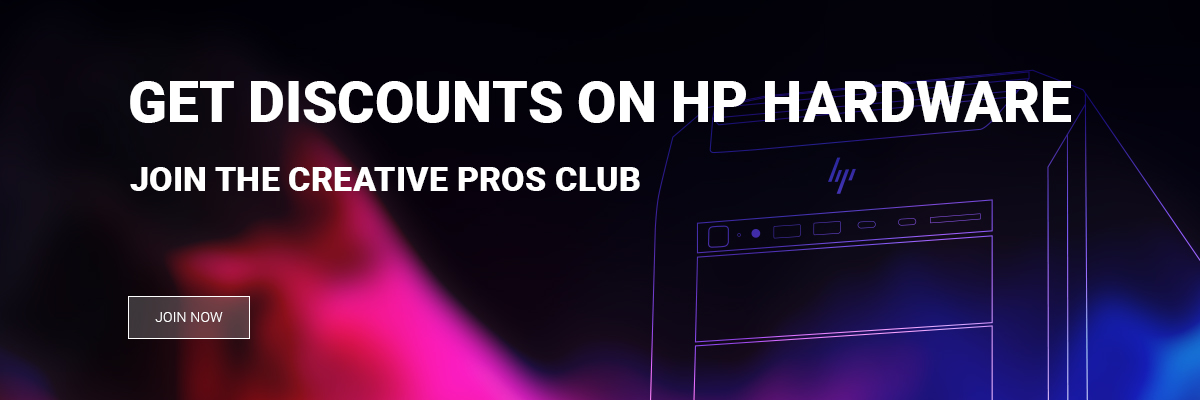 hp creative pros club join now dd795