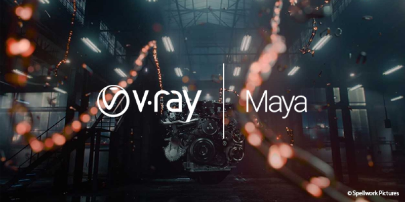 V-Ray 3.6 for Maya features Hybrid Rendering