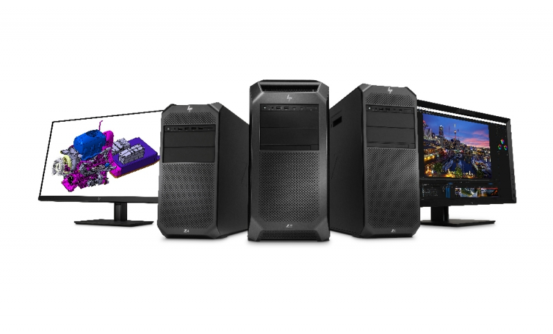 HP launches new Z series workstations