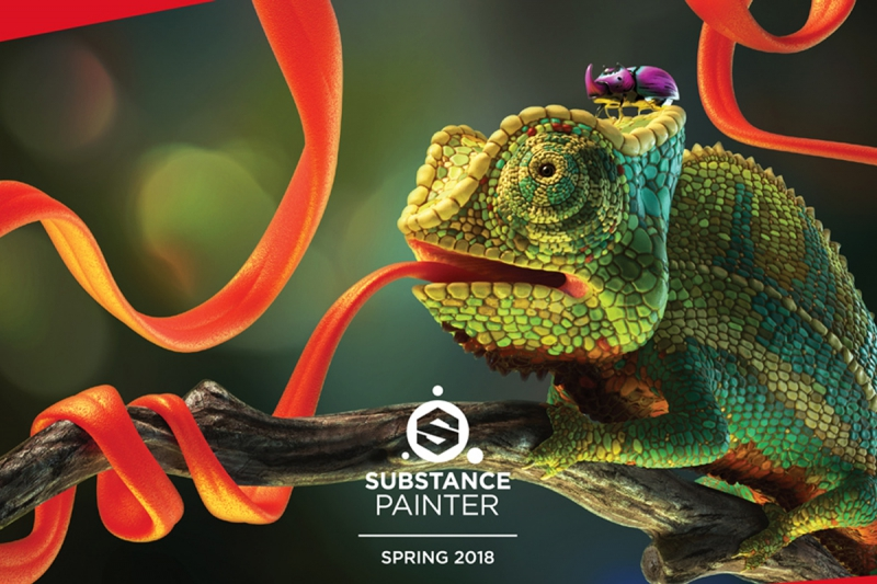 Substance Painter receives spring update