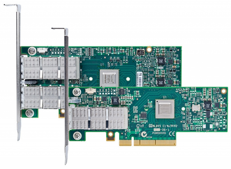 ConnectX-3V PI adapter card dual-port QDR