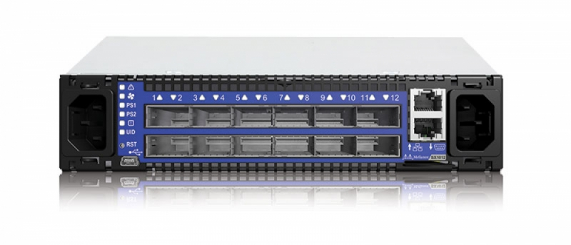 12-Port 40/56GbE and up to 48-Port 1/10GbE Switch System
