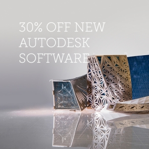 Get 30% off Autodesk Products