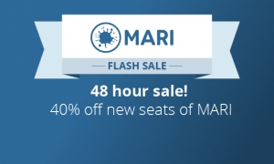 40% sale on MARI, for 48 hours only