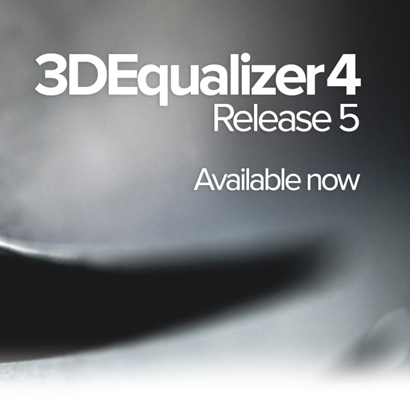 3DEqualizer 4 release 5 now available