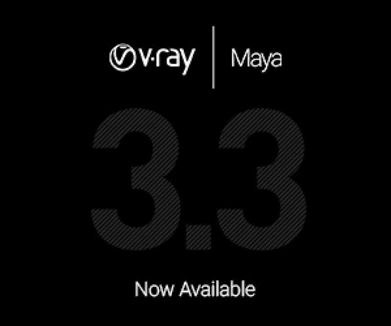 Chaos Group release V-Ray 3.3 for Maya