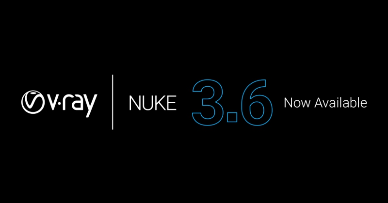 Chaos Group Releases V-Ray 3.6 for NUKE